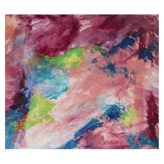 Cherry Gardens Abstract Painting