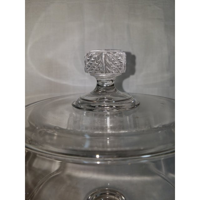 Empire Flint Glass Biscuit Compote , 19th Century For Sale - Image 3 of 6