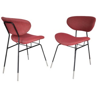 Italian Midcentury Gastone Renaldi Chairs for RIMA, Set of Two, 1950s For Sale