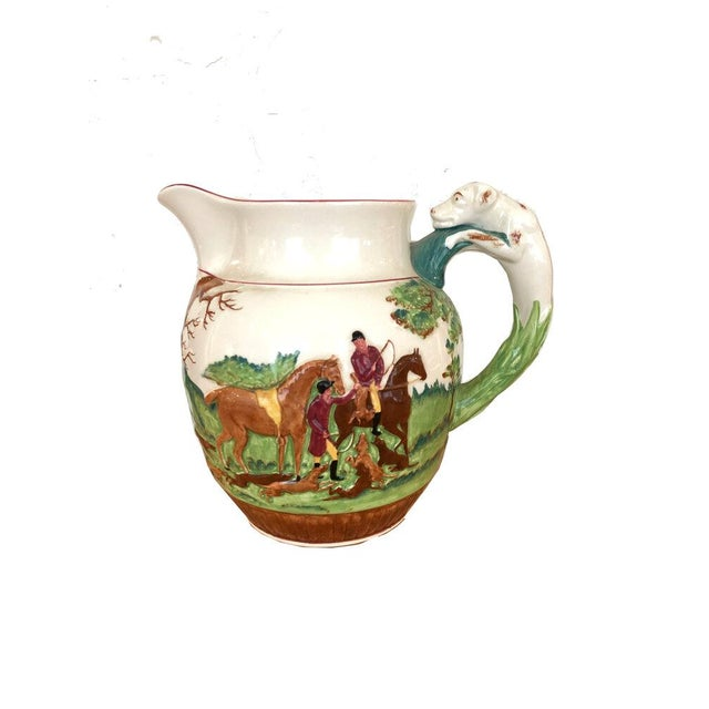 Wedgewood Hound Handled Hunt Pitcher For Sale In Boston - Image 6 of 6