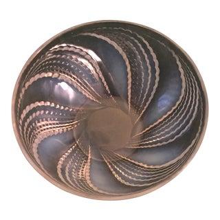 Lalique Opalescent Bowl