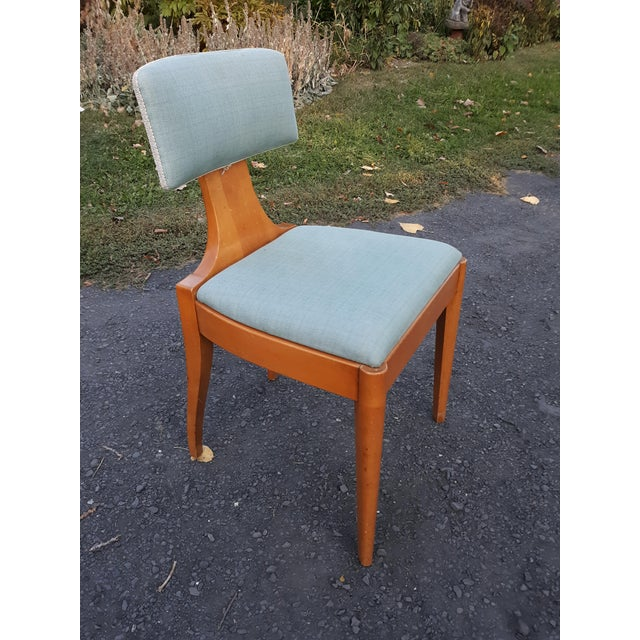 1930s John Stuart Art Deco Chair For Sale - Image 11 of 11