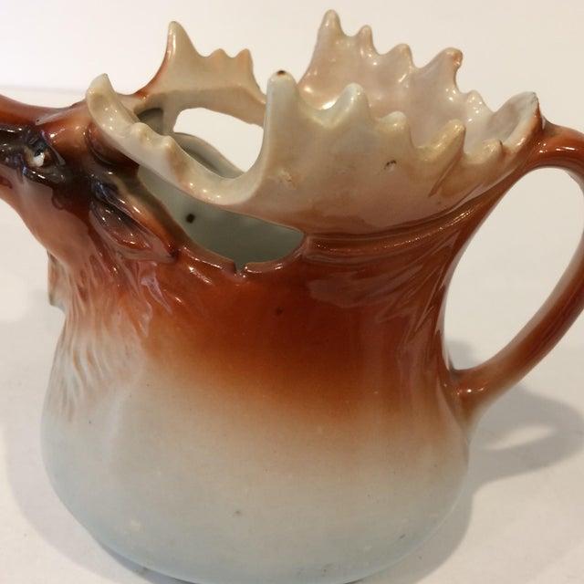 Vintage Porcelain Moose Creamer For Sale - Image 10 of 11