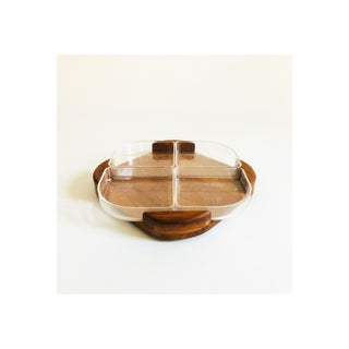 Mid Century Danish Teak and Acrylic Tray Preview