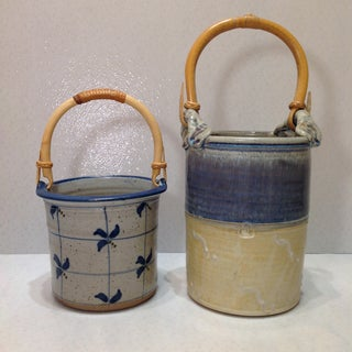Handmade Pottery Baskets- A Pair Preview
