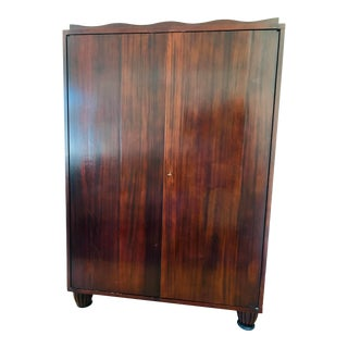 Barbara Barry for Baker Traditional Wooden Media Cabinet Center For Sale