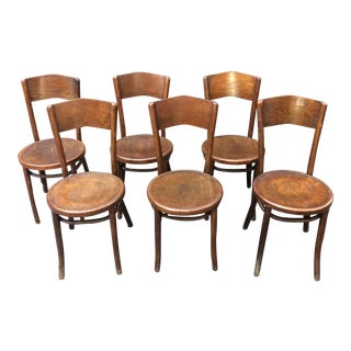 Vintage Great Northern Chair Co. Bentwood Chairs -- Set of 6