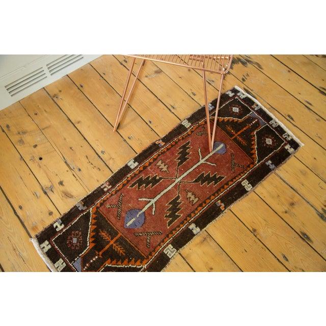 """Vintage Turkish Oushak Runner - 1'6"""" x 3'11"""" - Image 3 of 7"""