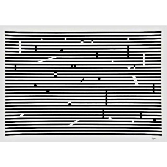 Artist: Yaakov Agam (1928) Title: Double Metamorphosis V Year: 1979 Medium: Silkscreen on Arches paper Edition: 180, plus...