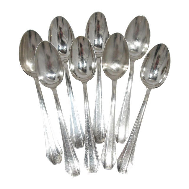 French Grand Hotel Tablespoons - Set of 8 - Image 1 of 4