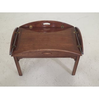 Chippendale Pennsylvania House Cherry Butler Coffee Table Preview