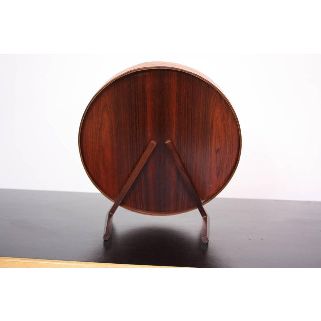 Swedish Rosewood Table Mirror by Uno and Östen Kristiansson for Luxus - Image 3 of 9