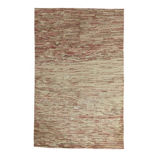 Contemporary Hand Woven Rug - 3'8 X 5'7 For Sale