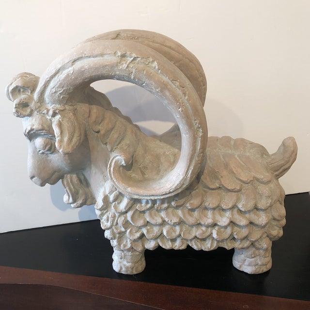 Ceramic Austin Ram Pottery Sculpture For Sale - Image 7 of 7