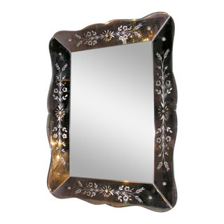Small Venetian Mirror For Sale