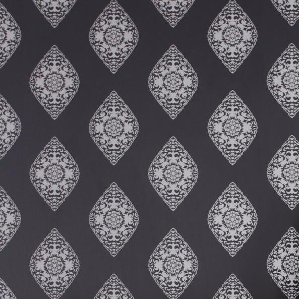 Boteh Silver Wallpaper For Sale