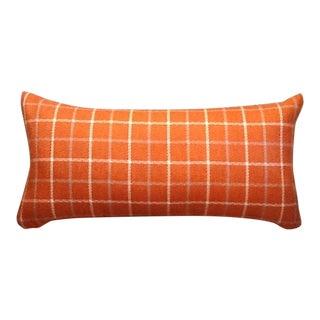 Custom Tweed Bolster Pillow