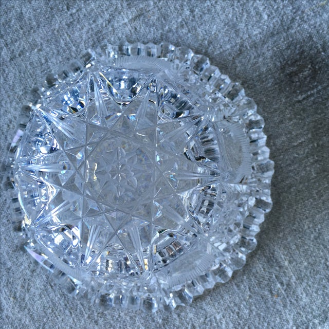 Vintage Crystal Bowl - Image 4 of 5
