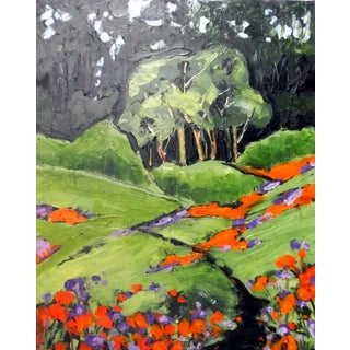 Lynne French California Plein Air Landscape Painting For Sale