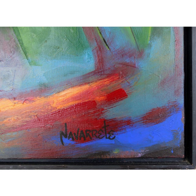 Contemporary Abstract by Cuban-American Artist Juan A. Navarrete - Image 3 of 10