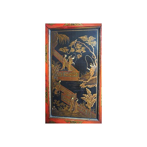 Chinoiserie Corner Cabinet For Sale - Image 4 of 5