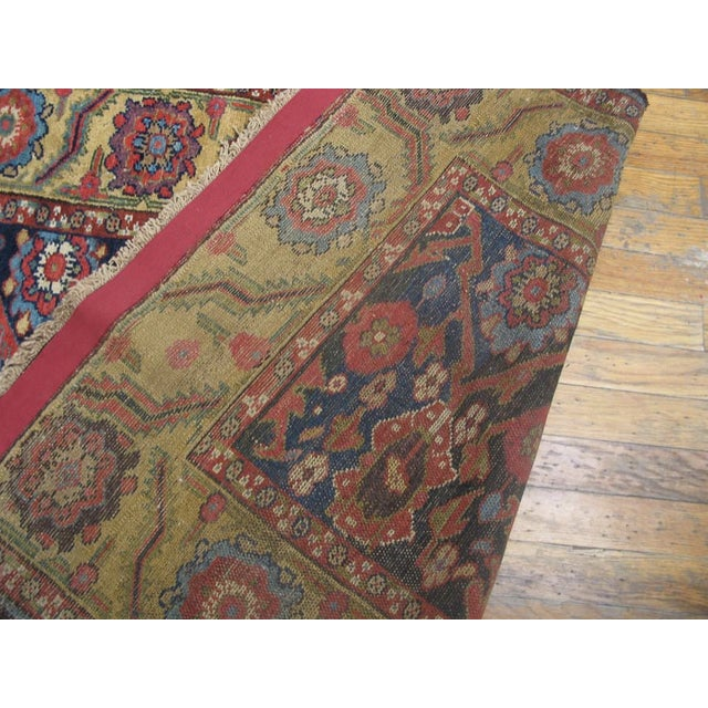 """Antique Nw Persian Rug 3'4"""" X 14'3"""" For Sale - Image 4 of 6"""