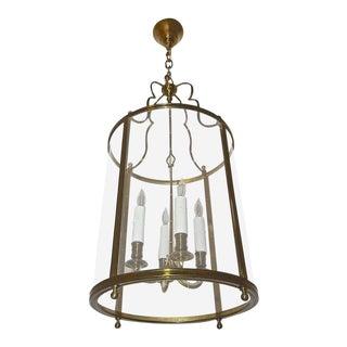 Maison Baguès French Bronze Ceiling Lantern Light