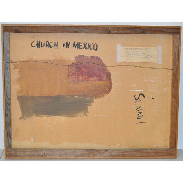 Louie Siegriest Modernist Oil Painting C.1950s For Sale In San Francisco - Image 6 of 6