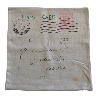 Postal Pillow Cover