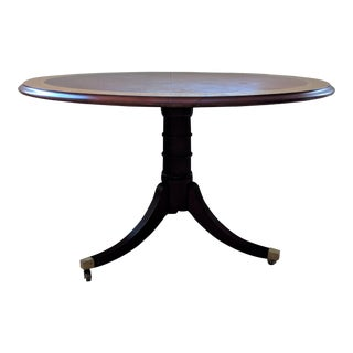 Baker Furniture Company Mahogany Pedestal Table