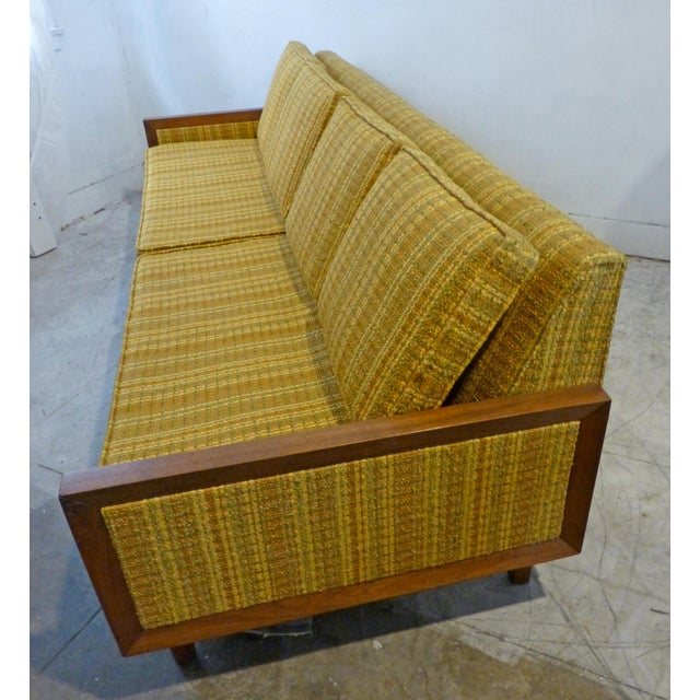Mid-Century Modern Walnut Couch - Image 6 of 8