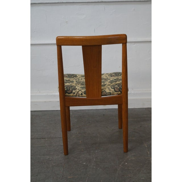 Brown Danish Modern Dining Chair by Vamdrup Stolefabrik For Sale - Image 8 of 10