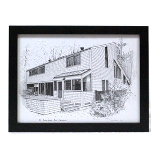 Pen and Ink Drawing by Tony Lofting For Sale