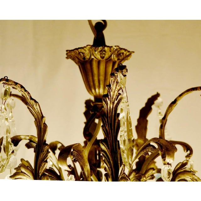 Rococo Chandelier For Sale - Image 10 of 12