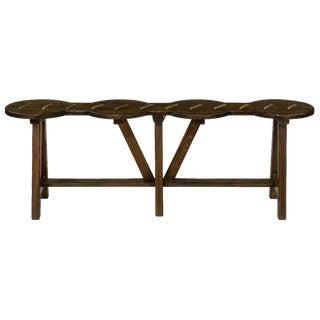 Sarreid LTD Reclaimed Pine Beam Work Bench