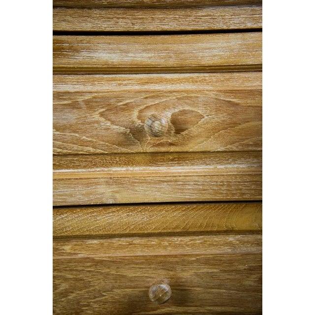Custom Solid Teak Modern Long Dresser For Sale - Image 10 of 11