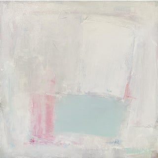 """""""Patches of Spring"""" Contemporary Abstract Painting by Sarah Trundle For Sale"""
