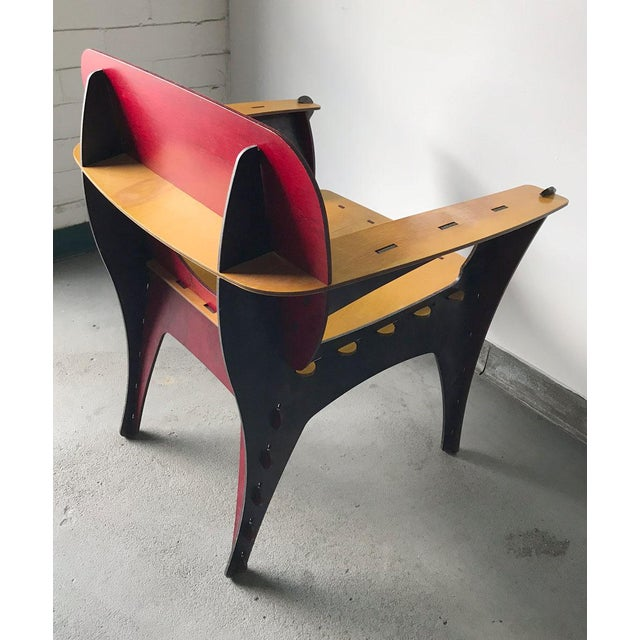 Modern Puzzle Chair by David Kawecki For Sale - Image 10 of 11