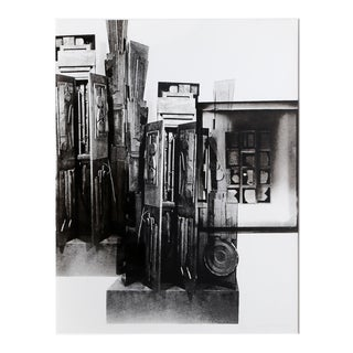 Facades 3 by Louise Nevelson For Sale