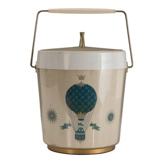 Georges Briard Ice Bucket With Balloons in the Style of Fornasetti For Sale