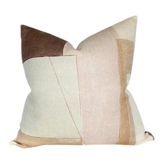 District Pillow Cover in Silt Brown For Sale
