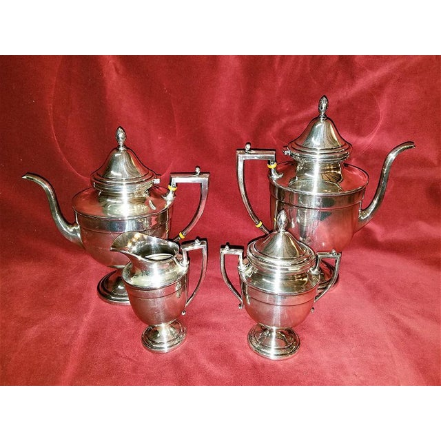 19c Frank M Whiting & Co Aesthetic Movement Sterling Service - Set of 4 For Sale - Image 12 of 13