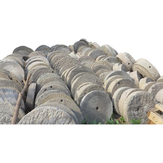 Asian Chinese Stone Grinder For Sale - Image 3 of 3