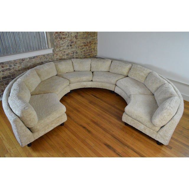 Amazing Milo Baughman Mid Century Modern Sectional Pit Sofa For Sale - Image 10 of 10