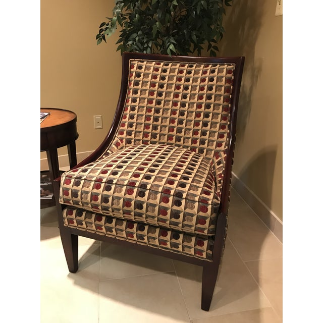 American Classical Fairfield Chair Company Upholstered Lounge For In Detroit Image 6 Of