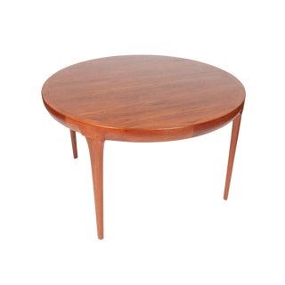 Danish Mid-Century Ib Kofod Larsen for Faarup Mobelfabrik Teak Wood Dining Table For Sale