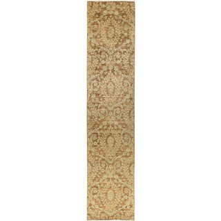 "Synchrony, Eclectic Area Rug - 3' 0"" X 13' 10"" For Sale"