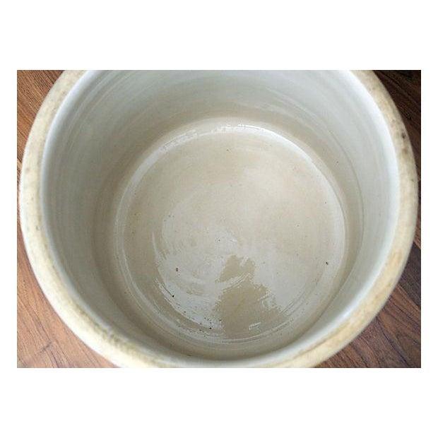 Marshall Studios Glazed Pottery Crock Planter - Image 6 of 7