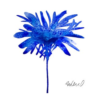 Botanical Blue Giclee Print For Sale