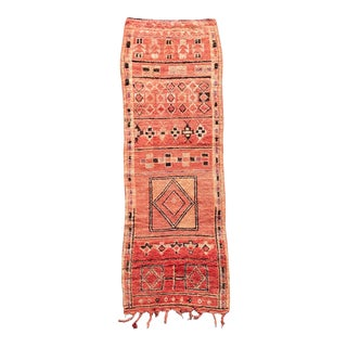 Boujaad Moroccan Red Rug For Sale